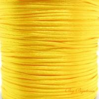 Fio acetinado amarelo ouro 1 mm 10 metros