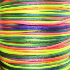 Fio de Seda multi Color Neon 1 mm 10  ms