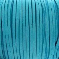 Fio Camurça Azul 3 mm 5  ms