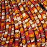 Cordão Étnico Mix Vermelho 5 mm 1 metro