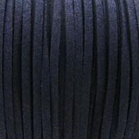 Fio Camurça Azul Marinho 3 mm 5  ms