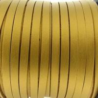 Fio Camurça Dourado c/ Couro 5 mm 5  ms