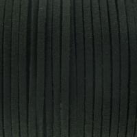 Fio Camurça Preto 3 mm 5 metros
