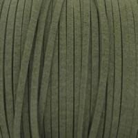 Fio Camurça Verde Militar 3 mm 5  ms
