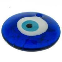 Murano Olho Grego Azul 50 mm 1  unidade