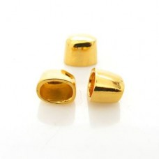 Ponteira Ouro Flash 10x12 mm 3  unidades