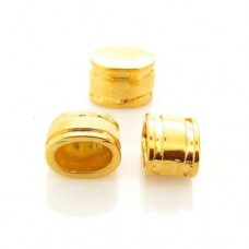 Ponteira Ouro Flash 10x13 mm 3  unidades